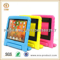 Hot selling in alibaba EVA foam tablet case cover for ipad air with handle stand