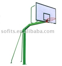 Sofits In-Ground Basketball Hoop with 60 Inch Backboard Basketball Net/Goals