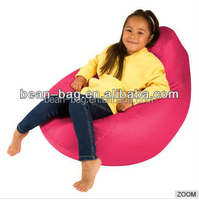 Kids Comfy Teardrop Shape Bean Bag Sofa Bed Or Chair