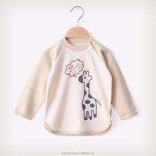 Spring&Summer organic cotton baby&infant long sleeve t shirt