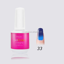 RNK temperature change nail polish uv gel the first brand gel polish china gel nail polish