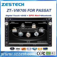 7 inch car dvd gps for VW Passat B5 accessories multimedia player navigation system with Rearveiw camera Parking sensor BT