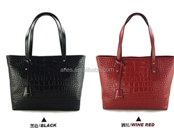 015 super hot selling lady bag, lady hand bag, Beautiful genuine leather shoulder bag