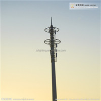 Direct Factory Steel Telecommunication Monopole Antenna Tower