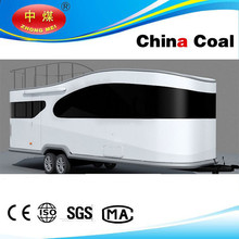 China coal group 2015 Diesel Limousine BUS motor home recreation vehicle revolution