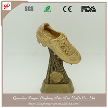 Resin World Soccer Shoe Award Wholesale Football Trophy Premier League Trophy