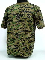 hot sale O-neck Short-sleeved T-shirt TC 65/35 military T-shirts army traning T-shirt