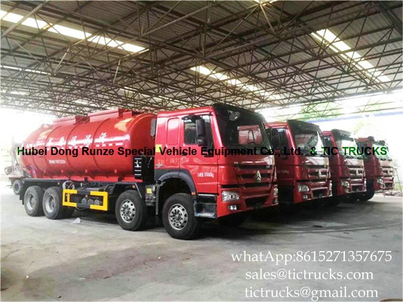 HOWO heavy truck 18 sludge  -01-sludge transporters-tanker.jpg
