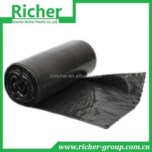 cheap wholesale plastic waste garbage bag with recycled material