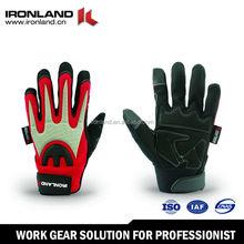 Digital Grain Goatskin Palm Adjustable Wrist Strap winter glove