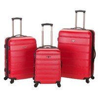 GM15121 3pcs set 20/24/28inch trolley wheeled luggage