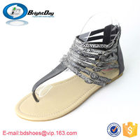 ladies high heel shoes/flat beach shoes/women sandals 2015