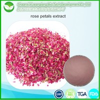 Natural rose petals extract with Polyphenol