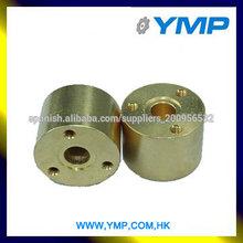 Proveedor de precisión de metal prototipos torneadas de latón roscado cnc mercado de piezas de encargo