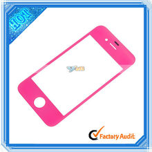 New Arrival! Screen Lens Glass For iPhone 4 Peach (87011816)