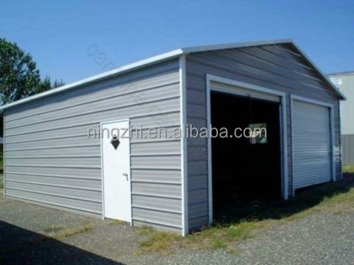 Modular building carports garage kits gable roof portable Mobile home garage kits