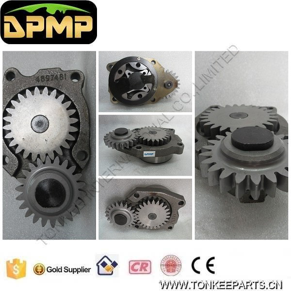 PC200-8 6D107 oil pump 4897481   P20