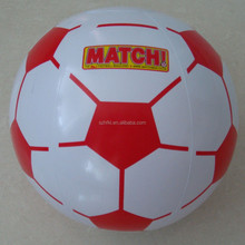 18 inches cheap inflatable soccer ball with logo printed for fair giveaway