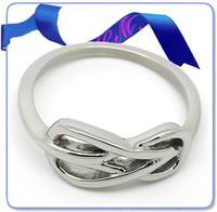 2015 Stainless steel wedding infinity symbol ring