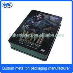 Best selling products tin dvd cases wholesale