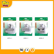 Round Bulldog Clip In Blister Card 4075-1/4065-1/4056-2/4032-3/4032-4/4075C-1/4065C-1/4056C-C/4032C-4