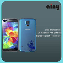 Ainy 2016 new products 3D anti-fingerprint 9H hardness tempered glass screen protector for Iphone 6
