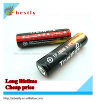 calidad de la batería 18650 con pcb protegido 3.7v 2400 mah 10a alta tasa de descarga de iones de litio de la batería 18650