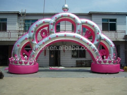 Pink Wedding Inflatable Arch for Decoration
