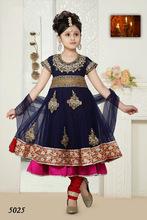 Latest Kids Anarkali Churidar Suits for Eid