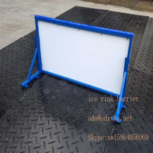 hockey shooting rink skating sheet/barrier/fence/ ice hockey skate rink boards/ice rink boards