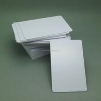 Blank MIFARE S50/S70 PVC card for Data card printer thermal printer
