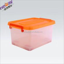 Wheel plastic waterproof compartment storage box