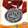 Fashionable united arab emirated gold tone ribbon medal