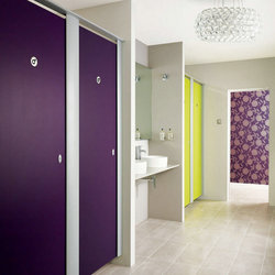 Plastic good quality hpl toilet partition for school with great price