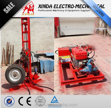 XDEM YZ50-150C Hydraulic Type Drilling rig, Portable Digging Machines. Water Well Borehole Drilling Machine can Drill Stone