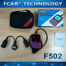 un pequeño apatatoque puede leer los códigos de los vehículos pesados, FCAR F502 Heavy Duty Código Reader