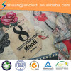 chinese style paper printed decorative upholstery fabric