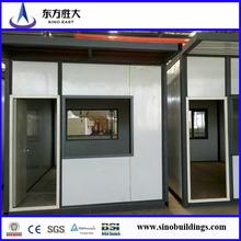 Popular en China y extranjero!!! Prefab contenedor para alojamiento con baño