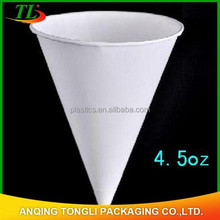 disposable cone cold drink paper cup