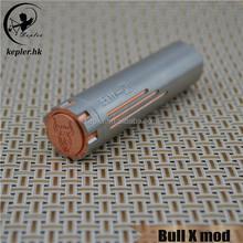 Bottom Push magnetic button / Kepler hybrid vaporizer mod Bull X for sale