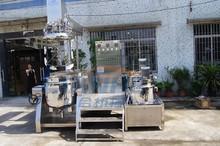 cosmetic cream vacuum emulsifying mixer/CE vacuum emulsifier/Mixing & Homogenising Systems