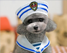 sailor dog collar and hat pet products