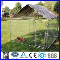 the iron fence dog kennel wholesale /wire mesh fencing dog kennel