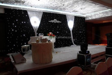 LED white weeding party stage decorative curtain light for holiday
