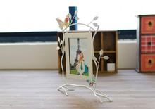 Zakka fotos con hojas y la decoración de la mariposa, europa diseño creativo para la decoración del hogar, b1236