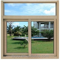 China factory best price high quality aluminium double sliding windows