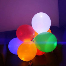 Led lighting Balloons wedding birthday party baloon latex balloons flash party balloon