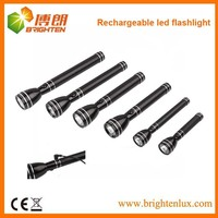 Factory Supply High Powered Aluminium Malaysia Japan 3W Rechargeable led geepas flashlight with Ni-Cd Battery