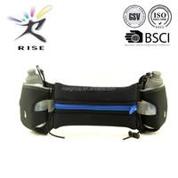 new hydration running belt waist bag with two water bottle holder