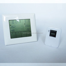 large screen digital LCD weather station with 5days weather forecast icons